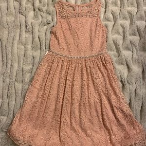 Reposh! Girls size 14 speechless blush dress
